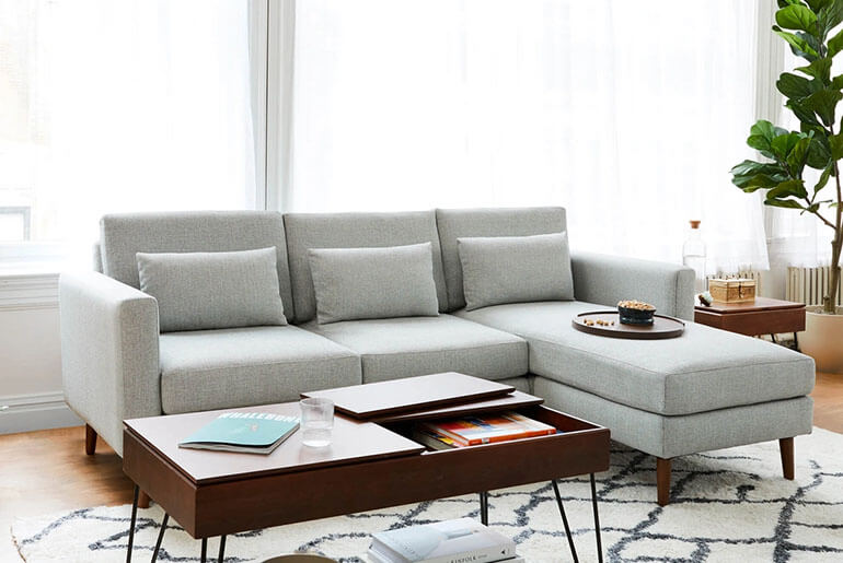 stylish non toxic couch