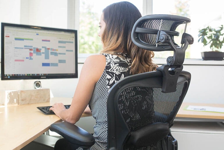 add headrest to office chair