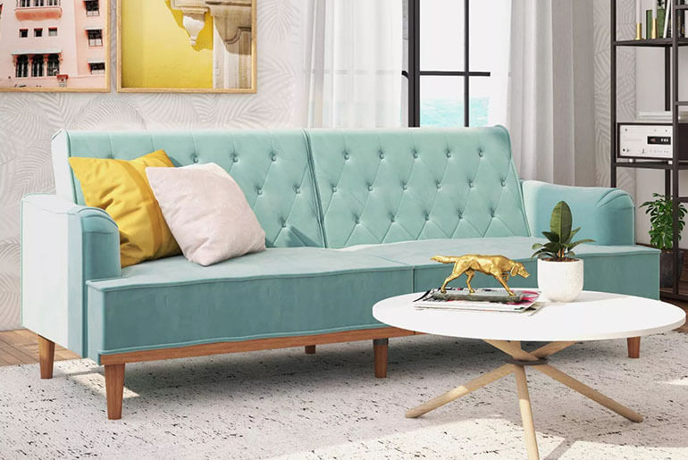 classy futon sofa bed