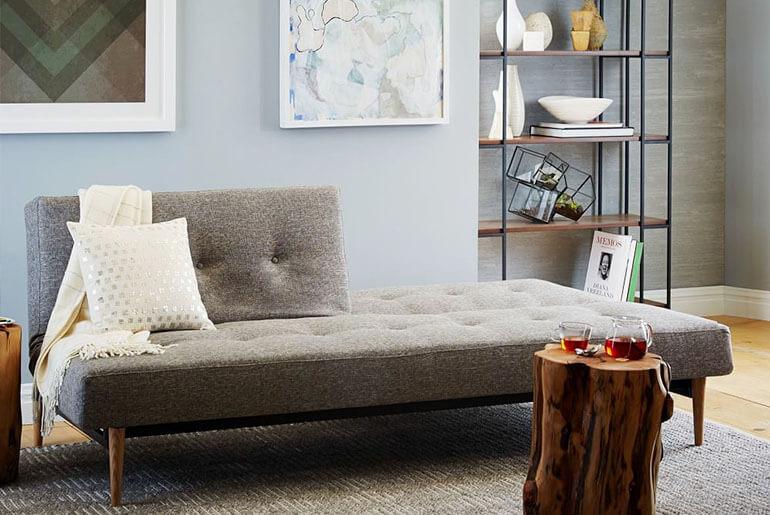 futon sofa without arms