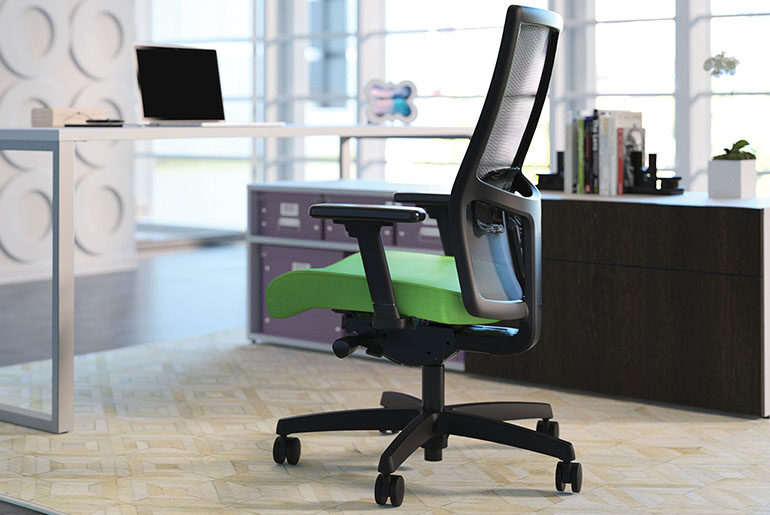how do adjustable office chairs work