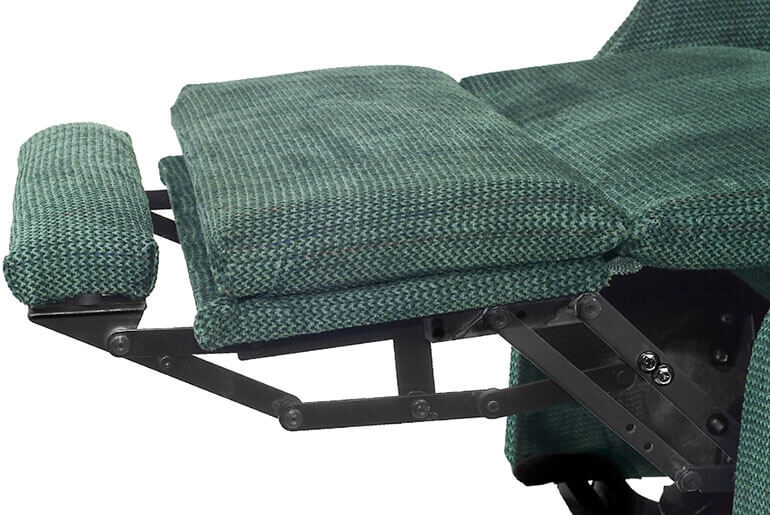 how to fix a recliner footrest