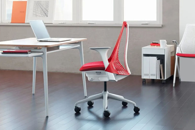 how to raise office chair without lever