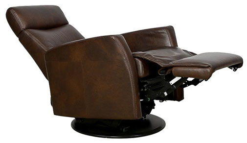 recliner footrest hard to close
