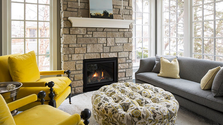 accent chairs for gray couch