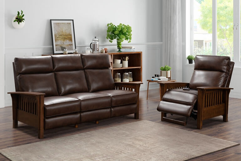 best mission style recliners