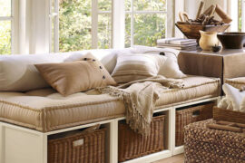 using a daybed as a couch